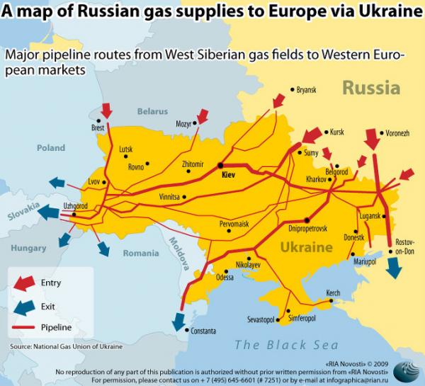 Газпром отвечает как всегда жестко