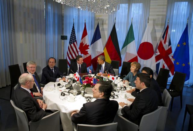 Санкции G-7